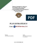 Plan Estratégico - Sergio Buinitzky 26.485.843
