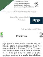 4.Cálculo_I_Aula_04_Integrais_Indefinidas