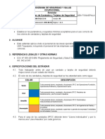 16-ESTANDAR COLORES DE CANDADOS DE SEGURIDAD-VERSION 00