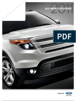 2011 Ford Explorer Brochure