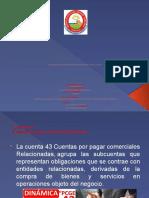 DINAMICA DE LA CUENTA 43, 88