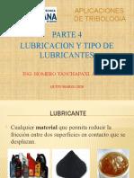 4.- LUBRICANTES Y LUBRICACION