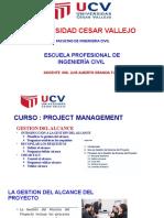 5. Clase -GESTION DEL ALCANCE 01 Octubre 2020