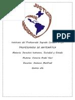 """Análisis de """"Estado de situación del financiamiento educativo en Argentina"""" - Victoria Anahí Nari"""