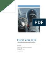 FY2012 Defense Spending Request Briefing Book