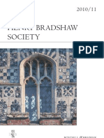 2011 Annual Henry Bradshaw Society Catalogue