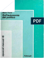 [Opuscoli marxisti 16] Mario Tronti - Sull'autonomia del politico (1977, Feltrinelli) - libgen.lc.pdf