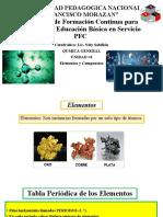 Diapositiva Unidad #4 Elementos y Compuestos (1)
