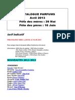CatalogueParfums
