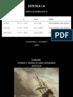 ESTETICA I 19-20 (sublime).pptx