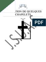 MEDITATION DE QUELQUES CHAPELETS 1