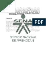 Trabajo Del Sena
