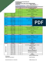 JADWAL LURING KELAS XII Semester Ganjil Tahun Pelajaran 2020-2021