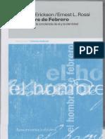 Erickson, Milton H y Ernest L Rossi - El hombre de febrero. Apertura hacia la conciencia de sí y la identidad en hipnoterapia (Recuperado).pdf