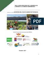 Reserva de Biósfera Choco Andino  Pichincha final