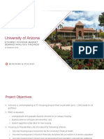 UA on-campus housing presentation
