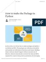 How to Make the Package in Python - Data Driven Investor - Medium
