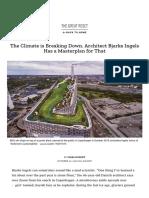 Architect Bjarke Ingels' Plan for Addressing Climate Change