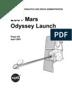2001 Mars Odyssey Launch Press Kit