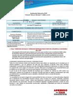 DESARROLLO PERSONAL CIUDADANÍA Y CÍVICA 14 II SEMESTRE