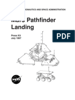 Mars Pathfinder Landing Press Kit