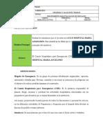 HOMA-PGSA-SST-P-03 Procedimiento Evaluación de Simulacro V. 1.0
