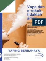 Vaping eCigs_Key Message A3 Poster_bahasa