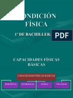 CONDICIÓN FÍSICA
