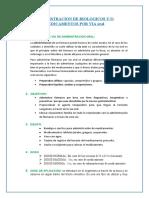 ADMINISTRACION DE BIOLOGICOS Y