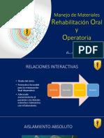 Materiales RO y Operatoria - Odontomás