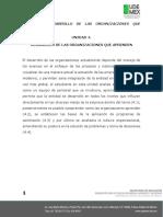 UNIDAD 4 DESARROLLO DE LAS ORGANIZACIONES QUE APRENDEN