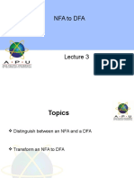 CT Lecture 3-NFA to DFA