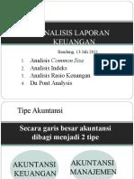 Analisis Laporan Keuangan Arie - 14 Juli 2011