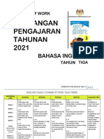 SOW ENGLISH YEAR 3 2021 by RozayusAcademy