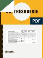 CR, Trésorerie correction applications