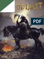 Bloodlust - Livre de Règles