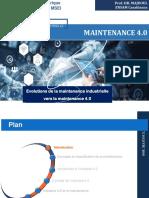 Evolution de La Maintenance Industrielle Vers La Maintenance 4.0 2EMME VERSION