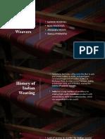 Entrepreneurial Management - Indian Weavers (1).pptx