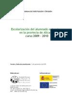 2010 Escolarizacion extranjeros