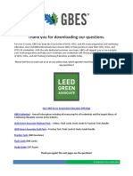 30-FREE-LEED-Green-Associate-Test-Questions-GBES-Copyright-2020-2021