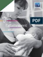 guide allaitement