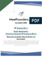 MeetFounders Nov 2020 Handout