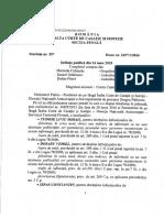 Decizia de Achitare a Procurorului Liviu Tudose