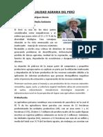 ACTUALIDAD AGRARIA DEL PERÙ (3)