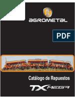 Catalogo Respuestos Sembradora Txmega