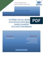 Système Fiscale Marocain évolution historique et particularités socioéconomiques