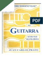 Método Moderno y Veloz Para Guitarra