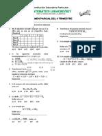 Examen de Aritmética - I Secundaria