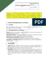 SG-SST-P-08 Bioseguridad Covid 19