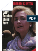 Josi - Hillary Rodham Clinton - What Every American Should Know (2000)